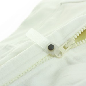 Куртка флисовая мужская LANCASTER, белая с оттенком слоновой кости