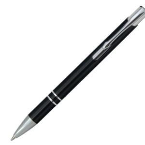 Ручка шариковая, COSMO, металл, черный