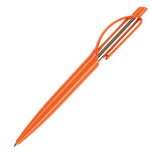 Ручка шариковая, пластик, оранжевый, ДОПИО