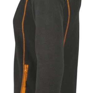 Куртка женская NOVA WOMEN 200, темно-серая с оранжевым