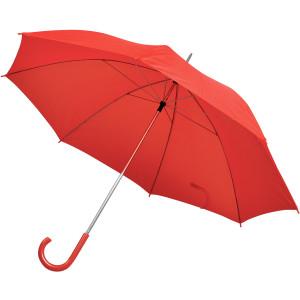 Зонт-трость с пластиковой ручкой, механический