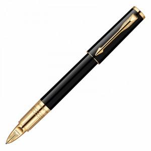 Ручка Пятый пишущий узел Parker Ingenuity Slim BLK GT F.BLK GB