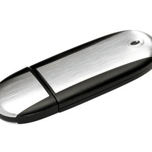 Флешка Ergonomic, черная