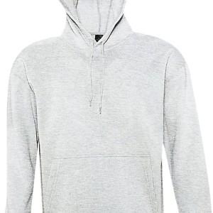 Толстовка с капюшоном SLAM 320, светло-серый меланж