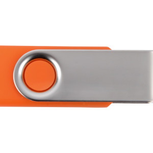 Флеш-карта USB 2.0 4 Gb «Квебек», оранжевый