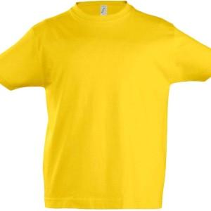 Футболка детская Imperial Kids 190, желтая