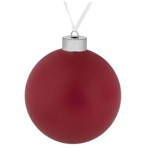 Елочный шар Colour, 10 см, красный