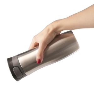 Термостакан Tansley, герметичный, вакуумный, серебристый