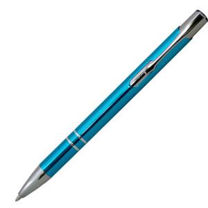 Ручка шариковая, COSMO, металл, голубой