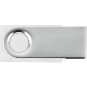Флеш-карта USB 2.0 4 Gb «Квебек», белый