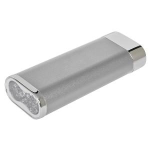 """Универсальное зарядное устройство """"Light"""" (5200mAh) с фонариком"""