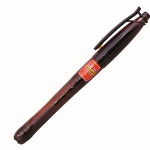 Ручка шариковая, пластик, темно-коричневый, BOTTLE Pen