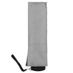 Зонт складной Unit Slim, серый