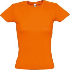 Футболка женская MISS 150, оранжевая