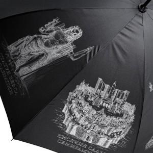 Зонт «Восьмое чудо света», черный