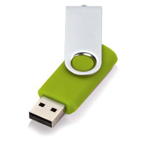 Флеш-карта USB 2.0 4 Gb «Квебек», зеленое яблоко