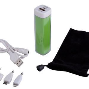 Внешний аккумулятор Bar, 2200 мАч, зеленый