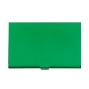 Футляр для визитных карточек, матовый окрашенный алюминий