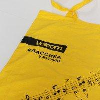 Хлопковая сумка с печатью логотипа методом шелкографией