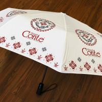 Изготовление зонтов под заказ, печать шелкографией в 3 цвета