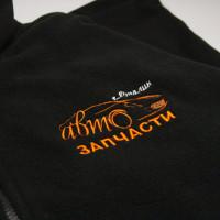 Байка с вышивкой логотипа