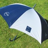Зонт трость с печатью логотипа шелкографией