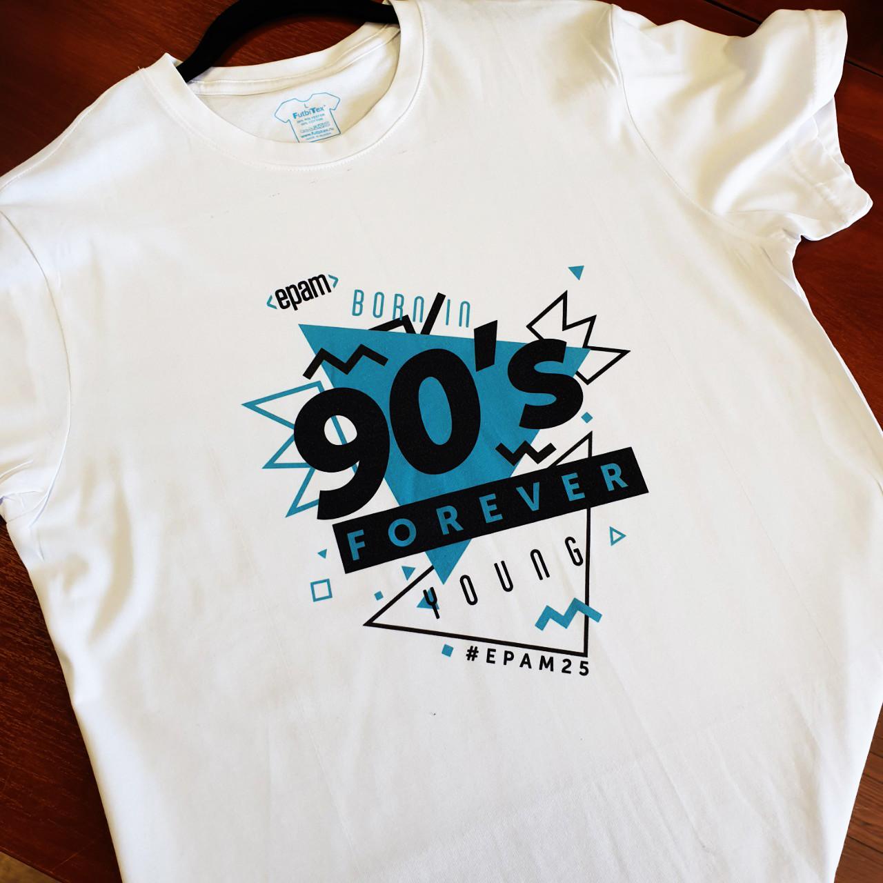 Печать на футболках методом сублимации