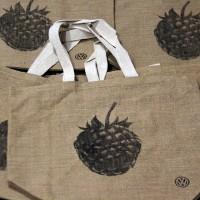 Печать шелкографией на сумках