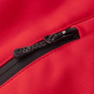 Куртка софтшелл мужская Skeleton, красная