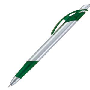 Ручка шариковая, пластик, серебро/ Lotus