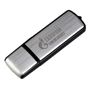 Флешка Steel, 8 Гб