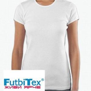 Футболка женская сублимационная Futbitex
