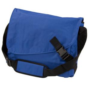 Сумка-мессенджер Clasp, синяя