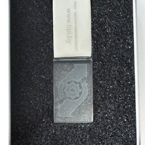 Флэшка кристалл 16 Гб с логотипом