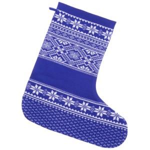 Носок для подарков «Скандик», синий (василек)