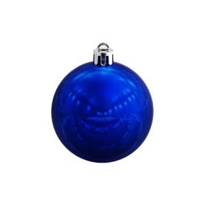 Елочный шар Shiny Smooth 6, синий