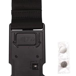 Багажный ремень-весы Cargosure, черный