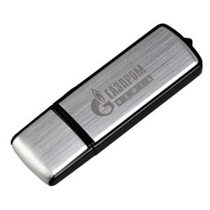 Флешка Steel, 16 Гб