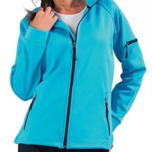 Куртка флисовая женская New look women 250, бирюзовая