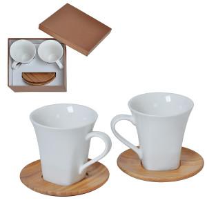 """Набор """"Натали"""": две чайные пары в подарочной упаковке"""