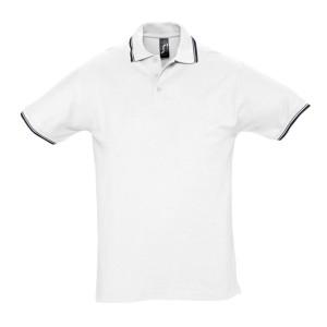 Рубашка поло мужская с контрастной отделкой PRACTICE 270