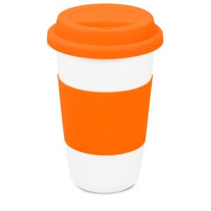 """Кружка """"Нью-Йорк"""" 300мл, оранжевый"""
