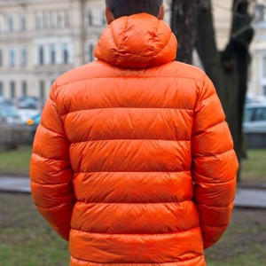Куртка пуховая мужская Tarner, серая