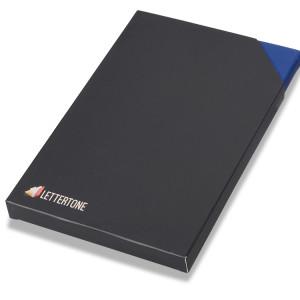 """Блокнот """"Magnetic"""", синий. Lettertone"""