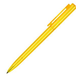 Ручка шариковая, пластик, прозрачный Paco