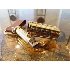 Флешка «Криптекс»®, Gold limited edition, 64 Гб