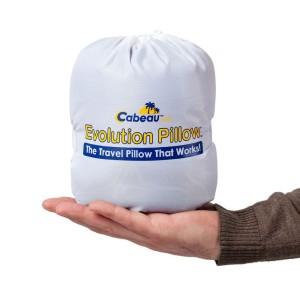 Подушка под шею для путешествий CaBeau Evolution pillow, синяя