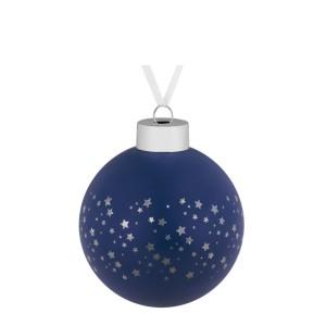 Елочный шар Stars, 8 см, синий