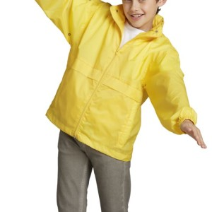 Ветровка детская Surf Kids 210, желтая