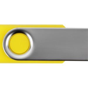 Флеш-карта USB 2.0 8 Gb «Квебек», желтый
